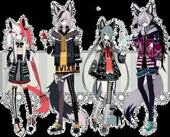 [ CLOSED ] Scheduler species by Piku-chan21