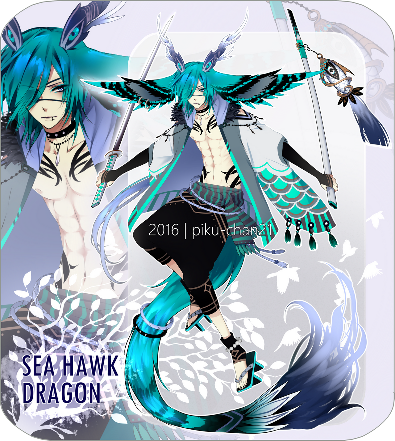 Closed avian dragon adopts 1 by piku chan21 on deviantart - Anime boy dragon ...