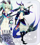 [CLOSED] Avian dragon adopts 2 by Piku-chan21