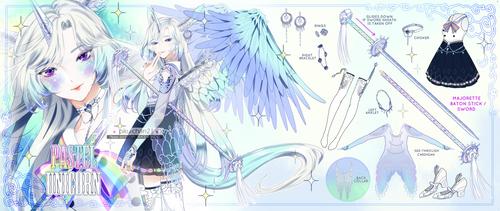 [ CLOSED / RAFFLE SALE ] Pastel Unicorn by Piku-chan21