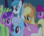 My Little Pony: Ponies concerned (MLP FiM) by AlbertoJulian