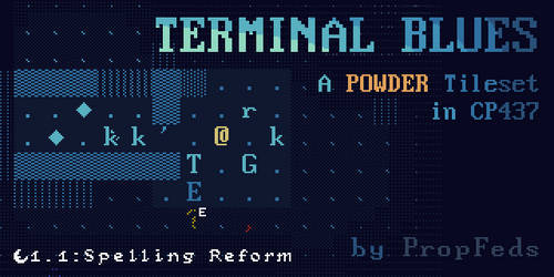 Terminal Blues 1.1: Spelling Reform - Banner