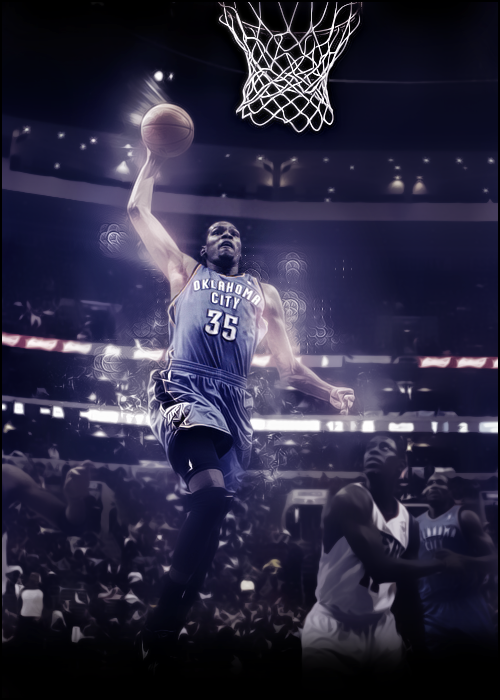 Kevin Durant by EngelhartNick