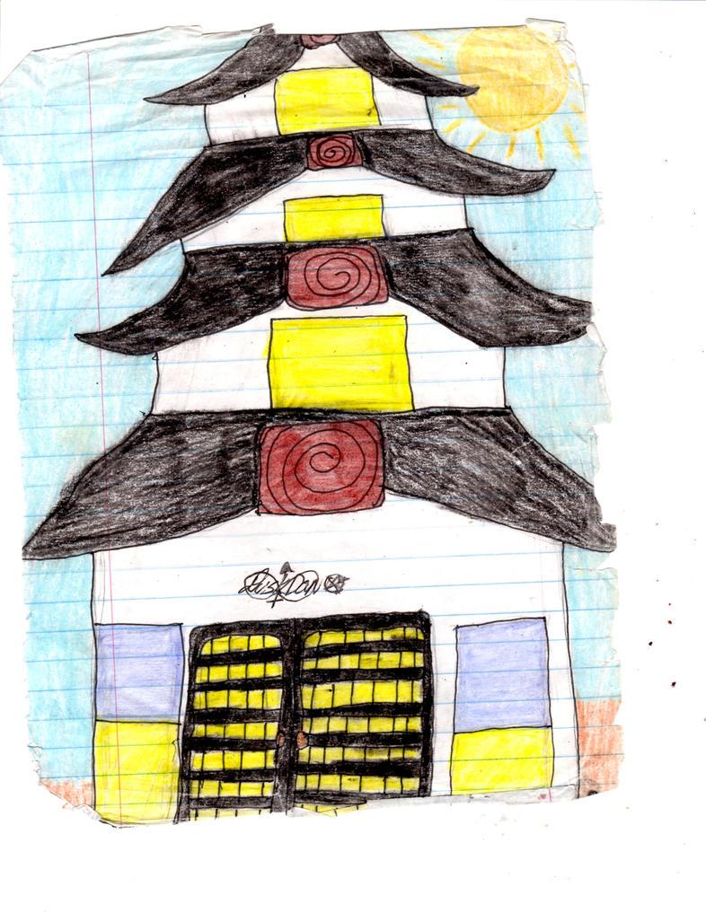 shinto temple by demonmudz666