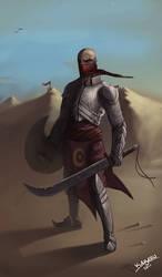 Desert warrior by Kabazu
