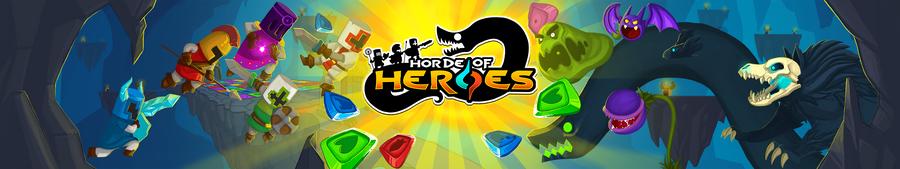Horde of Heroes baner by Kabazu