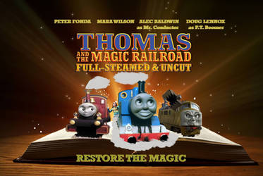 Thomas And The Magic Railroad Director Cut Poster by Trainboy55