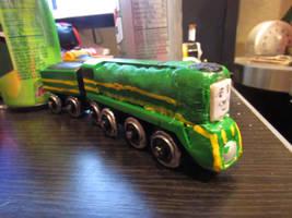 Custom-made Wooden Railway Shane Of Australia by Trainboy55
