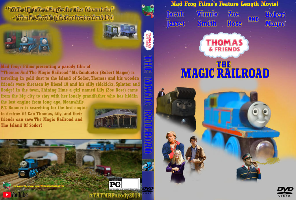 The Magic Railroad DVD Cover by Trainboy55 on DeviantArt