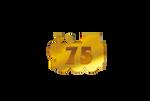 Thomas 75th Anniversary Logo