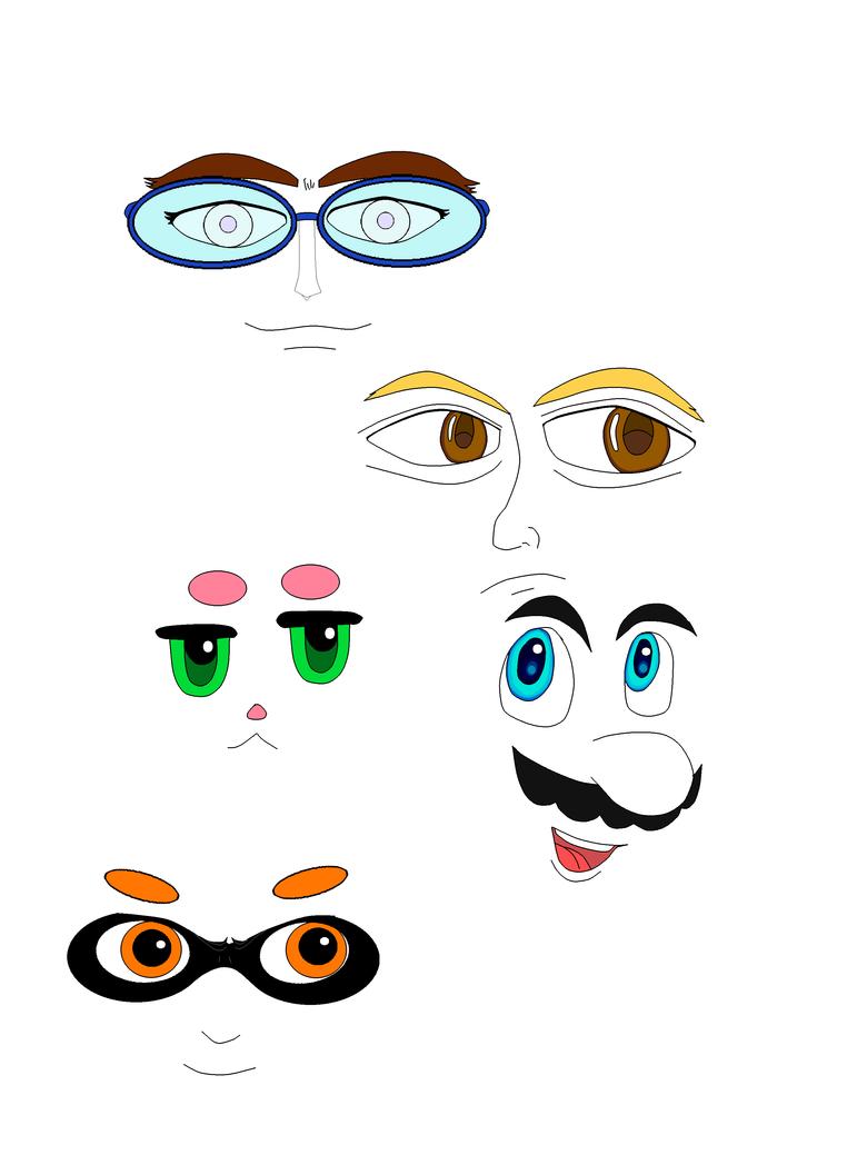 Eyes Demontration Digital by SSMF