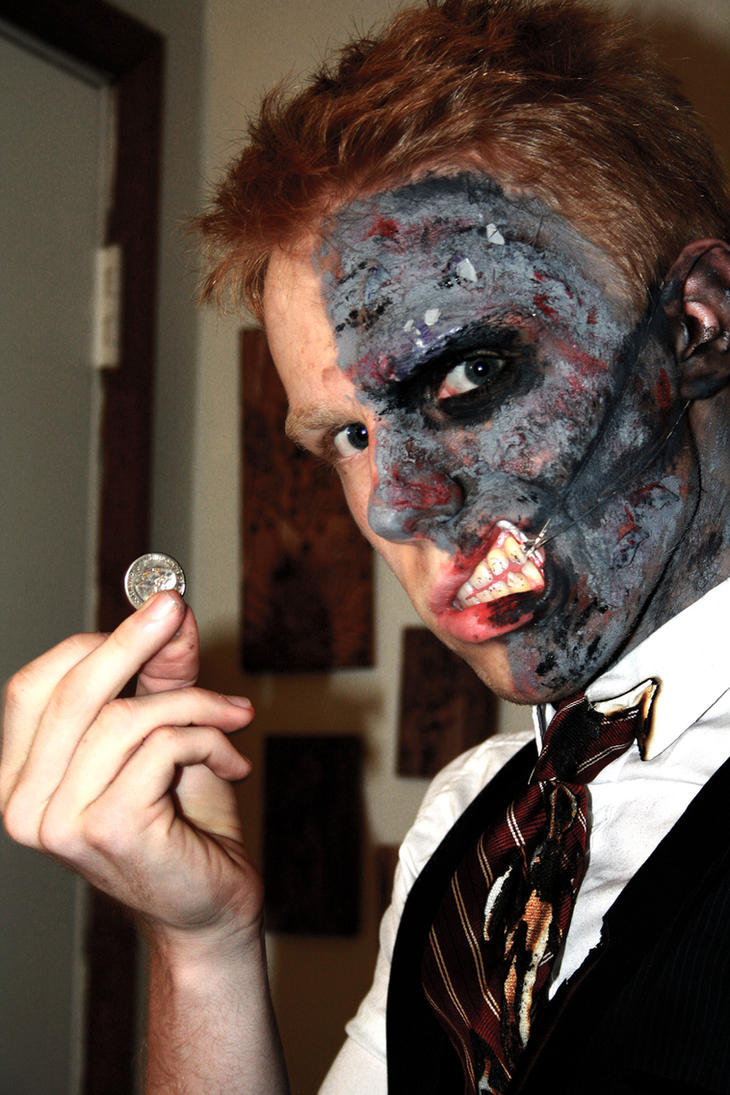 Two-Face costume by Valashard on DeviantArt