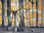 Another Slender Man painting