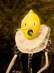 Lemongrab Painting