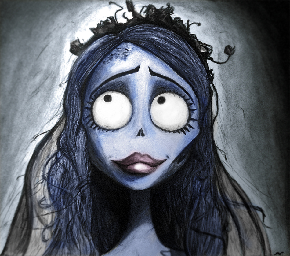 Tim burton artwork prints
