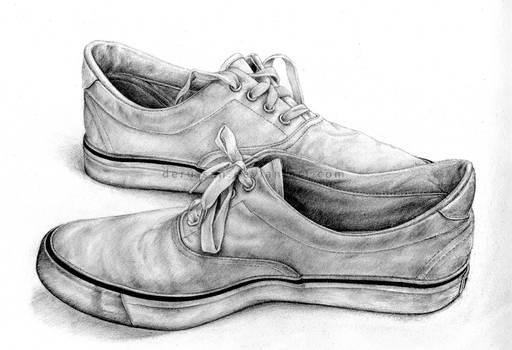 dessin : shoes