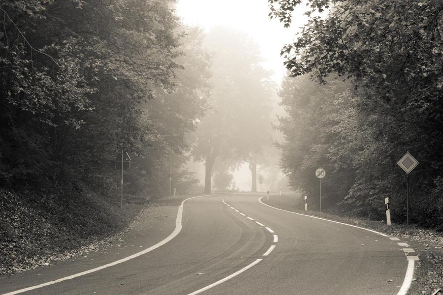 Foggy Street IV