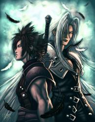 final fantasy vii-crisis core by mlappas