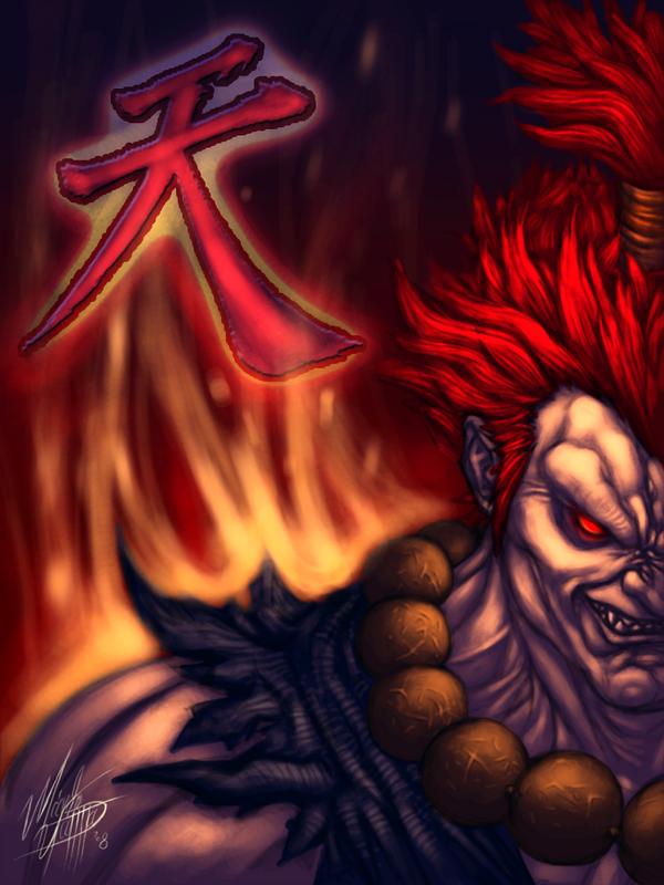 Street Fighter Akuma By Mlappas On Deviantart