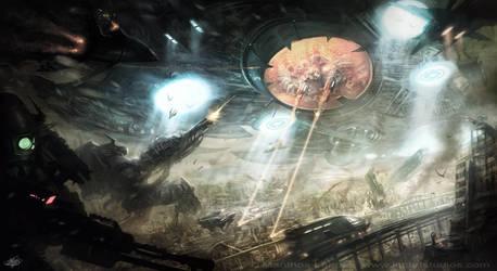 Alien Invasion by mlappas