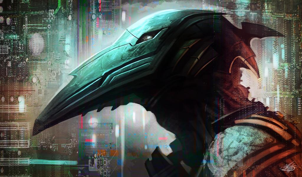Alien soldier concept