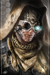 Cyborg zombie soldier by mlappas