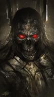 Black Skull Spitpaint by mlappas