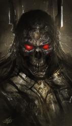 Black Skull Spitpaint
