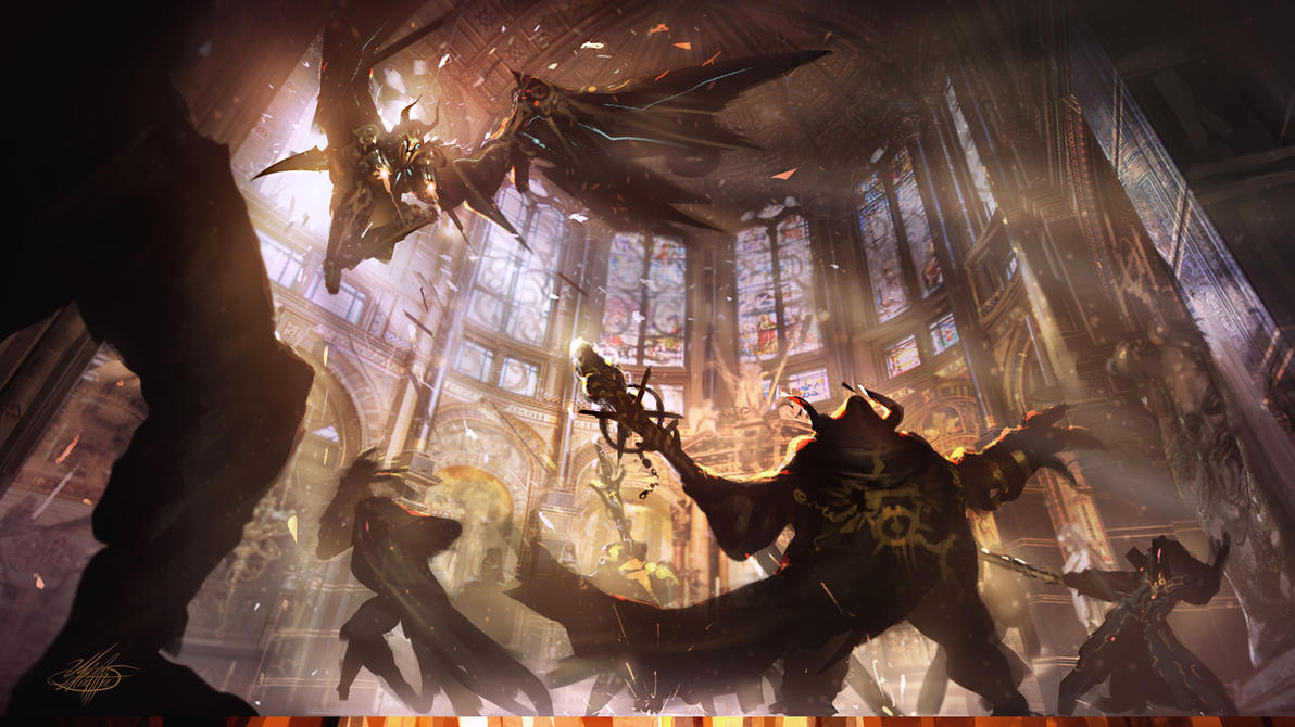 The cathedral assault by mlappas