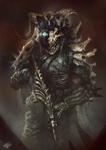 Skull Soldier by mlappas