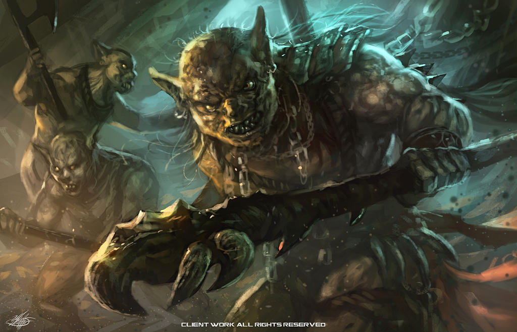 Goblins by mlappas