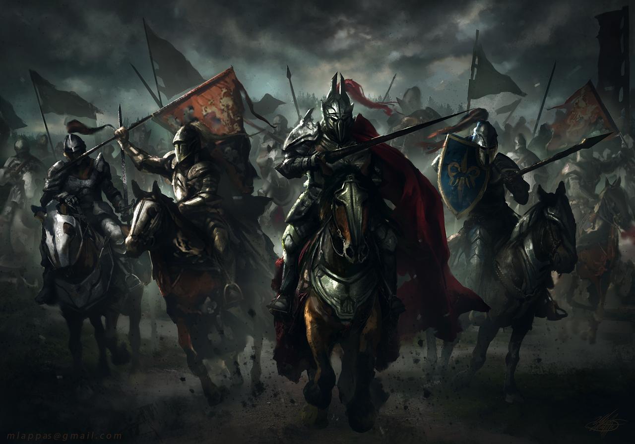 Cavalry by mlappas