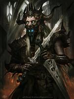 Demonic Swordmaster by mlappas