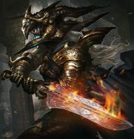 Demonic Swordmaster (Advanced Version) by mlappas