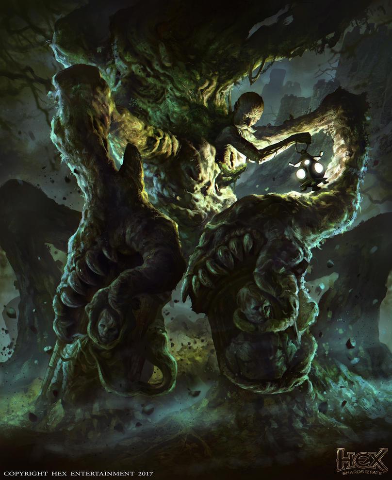 HEX TCG-Shards of Fate: Unbury by mlappas