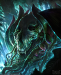 HEX TCG-Shards of Fate: Blightbush by mlappas