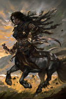 Raven-Gladiators of Dragon Isle| KS board game by mlappas