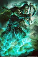 Death Wisp-Gladiators of Dragon Isle|board game by mlappas