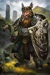 Flint-Gladiators of Dragon Isle board game