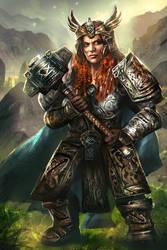 Hilda-Gladiators of Dragon Isle|board game by mlappas