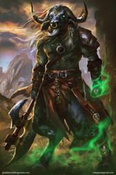 AxeWeaver--Gladiators of Dragon Isle|board game by mlappas