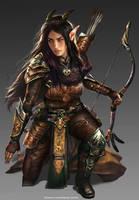 Illiandra Burkewood-Warriors of Light by mlappas