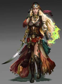 Yamara Grieger-Warriors of Light