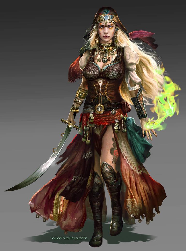 Yamara Grieger-Warriors of Light by mlappas