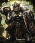 Dwarven Warrior-Arcane Gladiator TCG