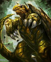 Turtle Bear-Arcane Gladiator TCG