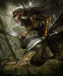 Elf Warrior--Arcane Gladiator TCG