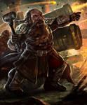 Dwarven Cannoneer--Arcane Gladiator TCG