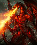 Fire Dragon--Arcane Gladiator TCG