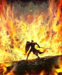 Wall of Fire--Arcane Gladiator TCG